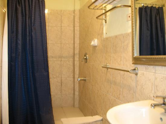 Airport Suites Hotel: Bathroom
