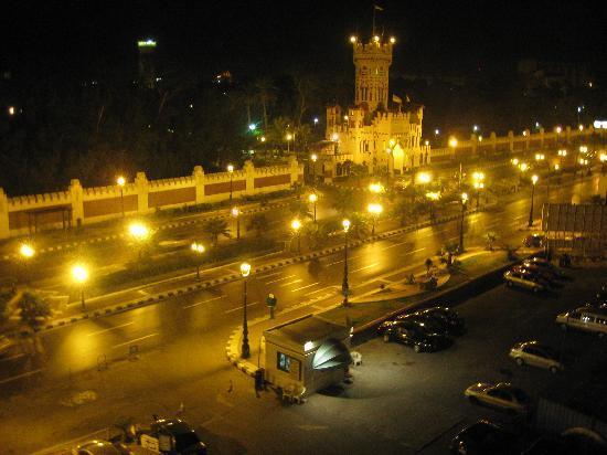 Sheraton Montazah Hotel : Balcony - to Mantazah Gardens from balcony