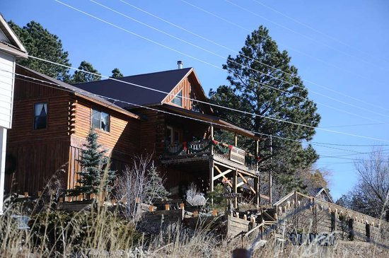 Cloudcroft, NM: Burro street boarding house