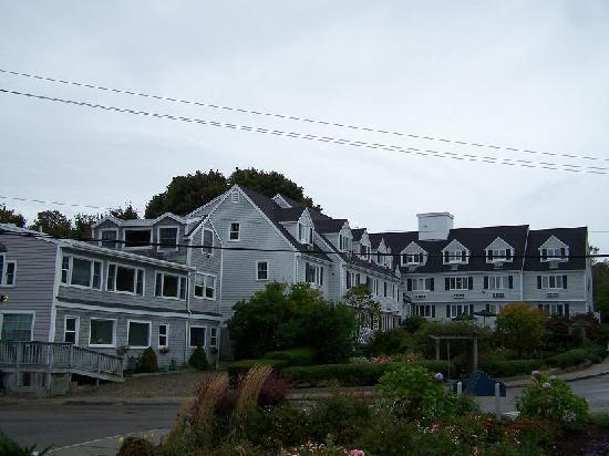 The Inn at Scituate Harbor : Harbor side of the Inn