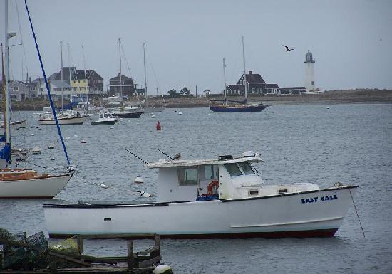 The Inn at Scituate Harbor: View of the Harbor from the Inn