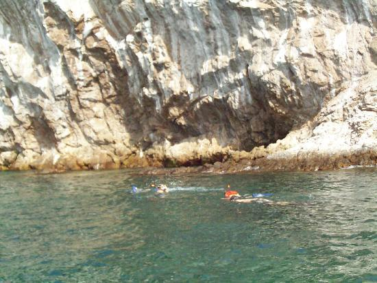 Sayulita, Μεξικό: Snorkling trip.