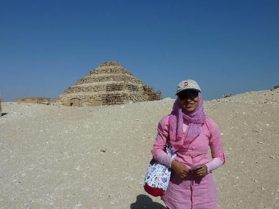 Egypt Queen  Day  Tours : Amina at Sakkora
