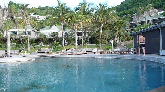 Christopher St Barth: piscine de l'hotel