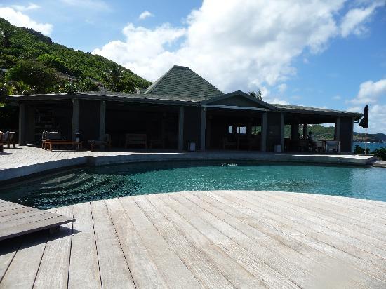 Autre vue de la piscine picture of christopher st barth for Piscine lorient moustoir