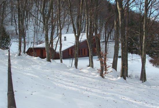 Casa Vacanze Il Nido : con la neve