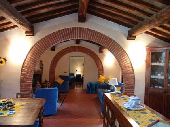 Fonte del Castagno : interno appartamento Gli Archi