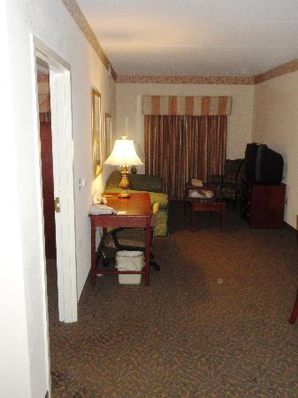 Country Inn & Suites By Carlson, Raleigh-Durham Airport : Living Area