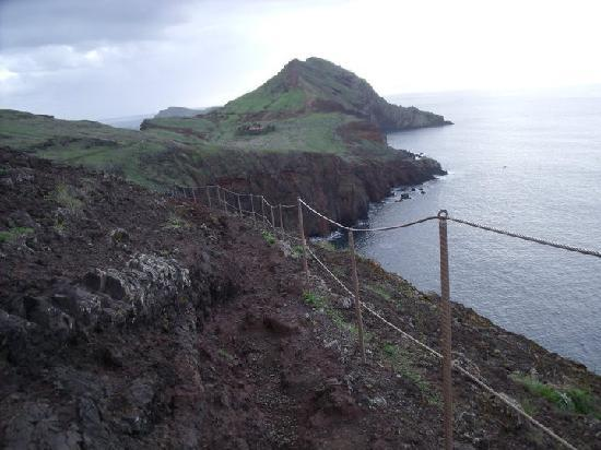 Machico, Portugal: Section of the walking path
