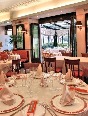 "Hotel Posta : Ristorante ""La Veranda"""