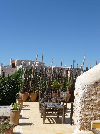 La Maison Essaouira : la terrasse