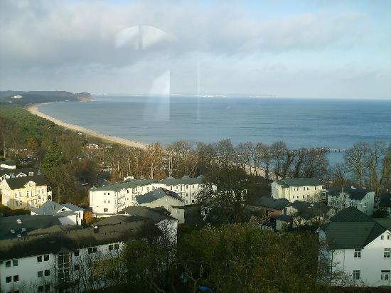 Hotel Hanseatic Rugen und Villen : Blick vom Turmcafé des Hotels