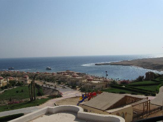 Al Nabila Grand Bay Makadi: Вид из номера