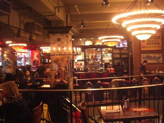 The Heartland Brewery And Rotisserie At Empire State Building Intérieur Restaurant