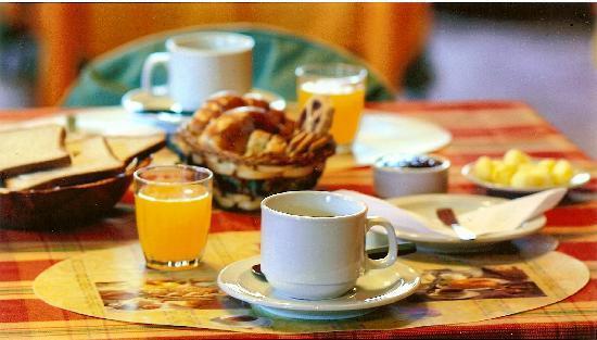 Hosteria Patagonia: desayuno
