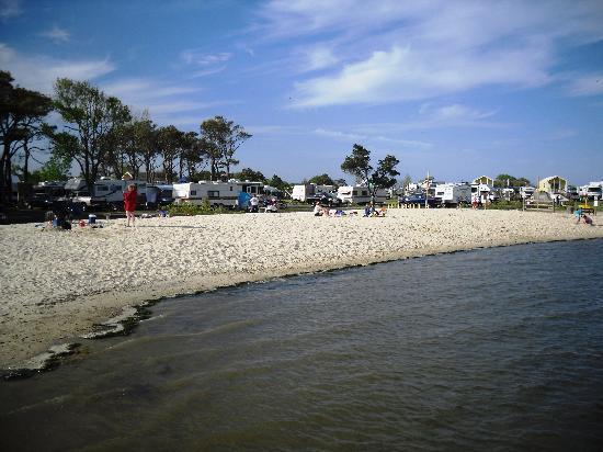 Castaways RV Resort & Campground: Beach side view of Castaways