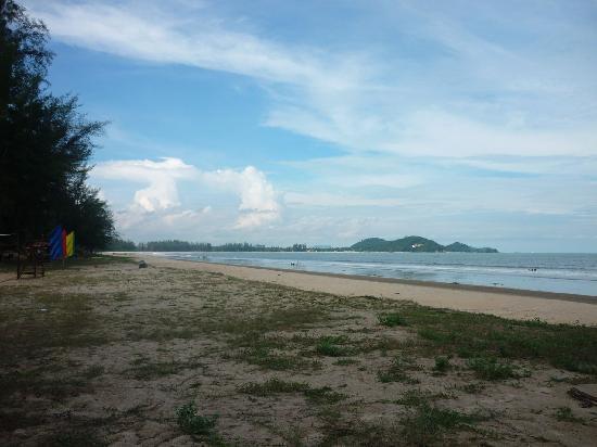 Beach again