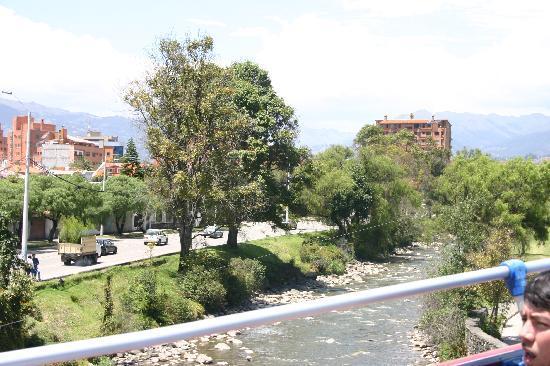 El Dorado Hotel: The river