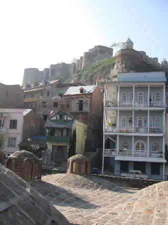 Typical architecture of Old Tbilisi
