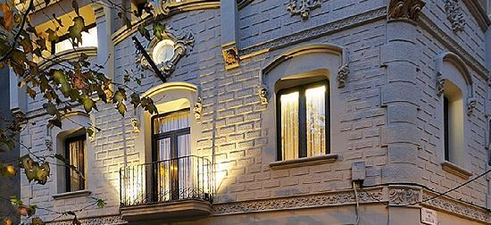 Hostemplo Sagrada Familia: detalle fachada