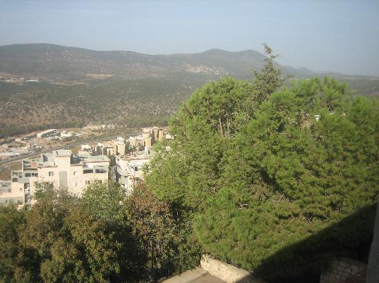 Safed, อิสราเอล: Mt. Meron from room window