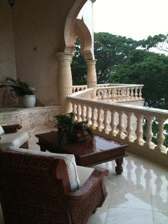 The Palace at Playa Grande: Balcony of our room