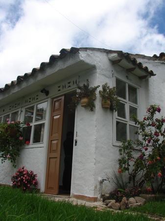Sogamoso, Colombia: Entrada al Hostal La Cazihita