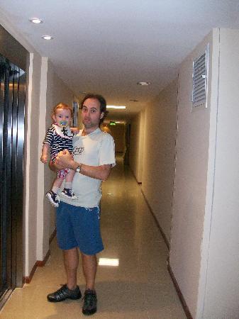 Hotel Riviera  Mar del Plata: pasillos