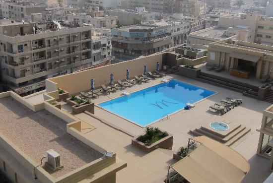 Nice Pool Picture Of Mercure Grand Hotel Doha Doha Tripadvisor