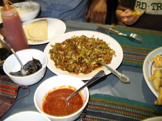 Mi Chayito : Moo shu pork