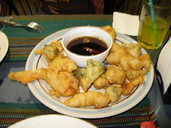 Mi Chayito: Shrimp & veggie tempura