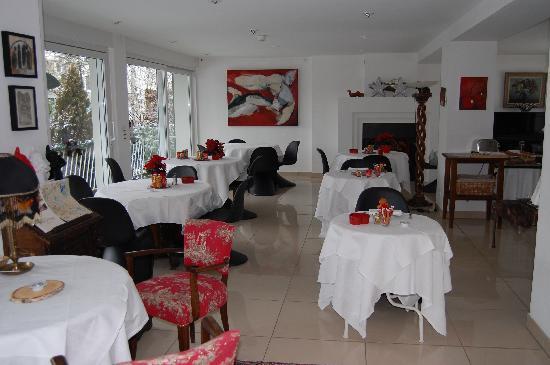 Villa Novarina: buffet