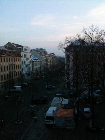 Bülow Palais: View from Window
