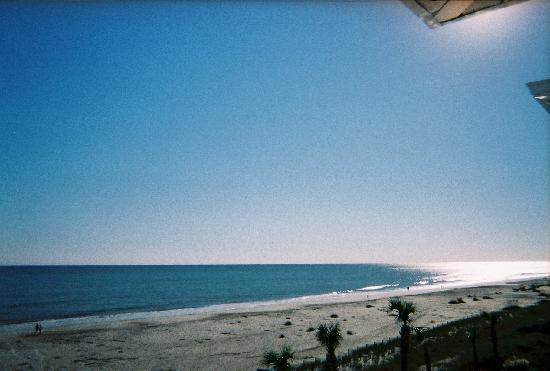 Calm Ocean on Beautiful OIB (taken from oceanfront room balcony