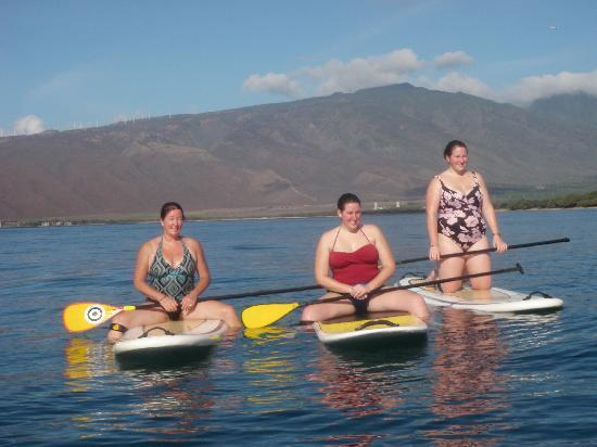 Paia, Χαβάη: 3 new SUP fans!