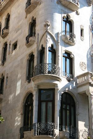Casa Fuster Hotel: Fachada