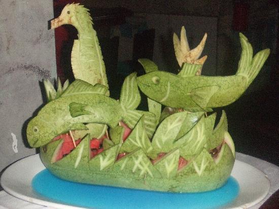 Melia Cayo Santa Maria: food art