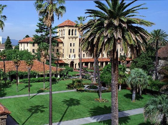 Santa Clara, كاليفورنيا: Mission Gardens at Santa Clara University