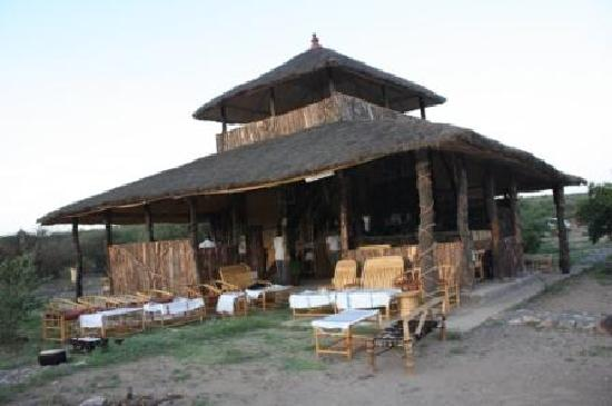 Awash National Park, Etiopia: One of the two restaurants for Awash Falls Lodge.