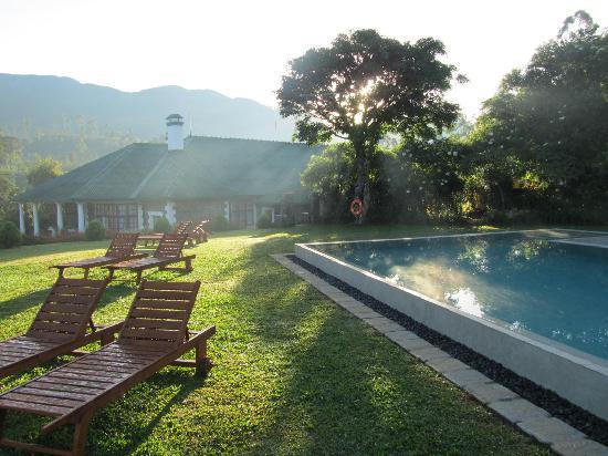 Hatton, Sri Lanka: The pool at Tietsin