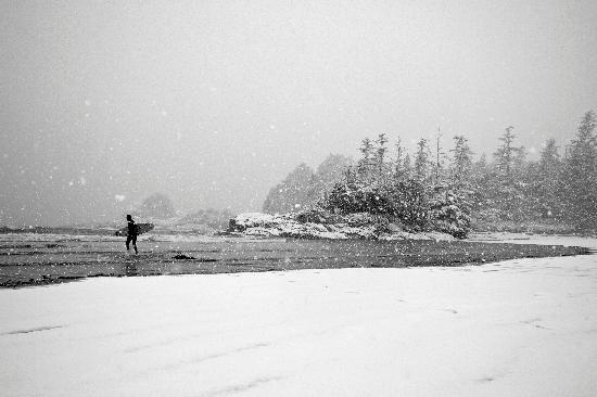 Tofino, Canada: Winter surfing. O'Neill Canada photo.