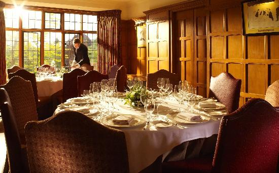 Chagford, UK: Restaurant at Gidleigh