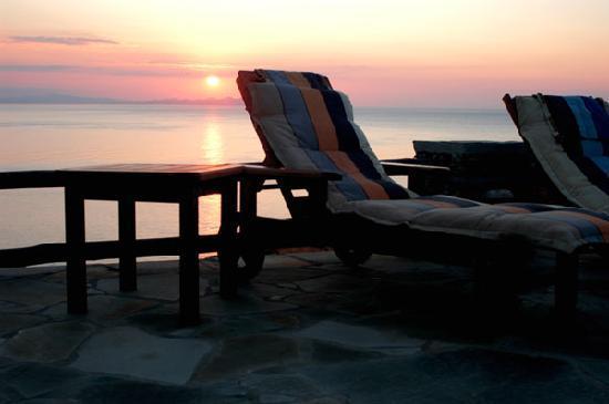 Cape Napos: view