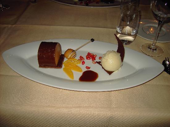 Kasteel Bloemendal: desert