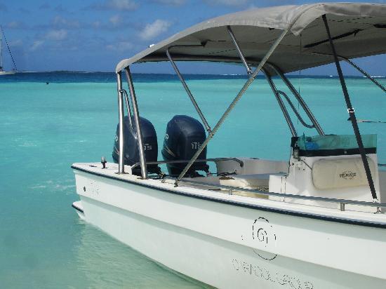 Isla El Gran Roque, Venezuela : la barca della posada