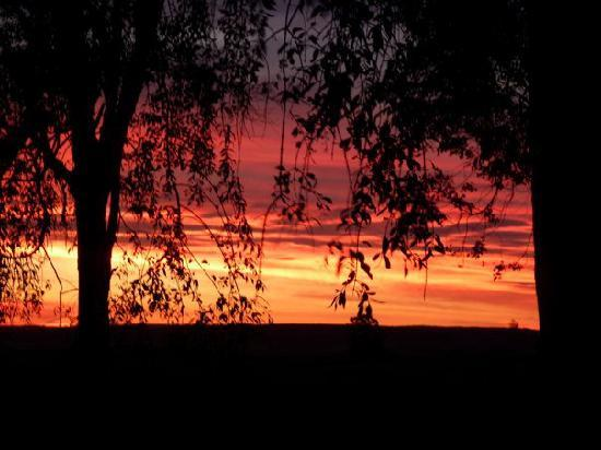 Estancia Pinos de la Quebrada: Sunset over Estancia Paz