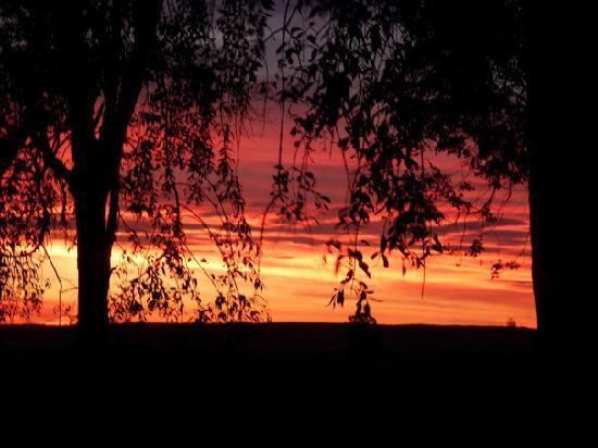 Estancia Pinos de la Quebrada : Sunset over Estancia Paz