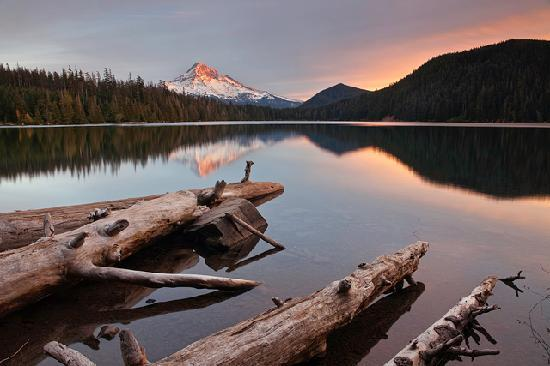 Hood River, Oregón: Lost Lake and Mt. Hood