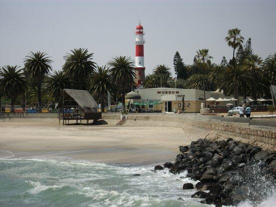 Guesthouse Fischreiher B&B: Am Strand von Swakopmund