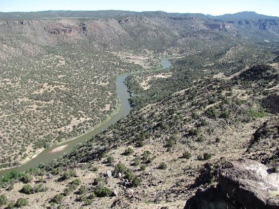White Rock Overlook Park: Rio Grande River from the Overlook